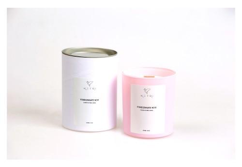 """Sojų vaško žvakė """"Pomegranate noir"""", 300ml"""